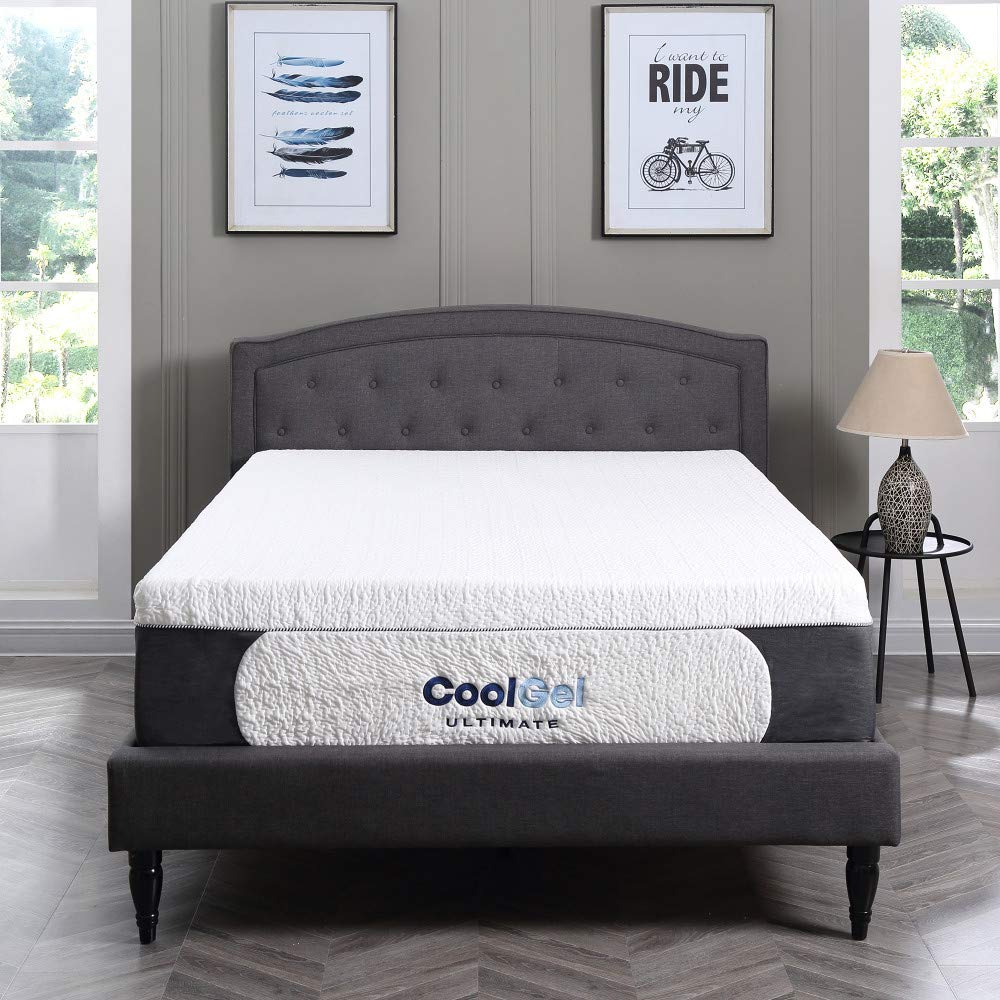 Classic Brands Cool Gel Ultimate Gel Memory Foam 14-Inch Mattress Review