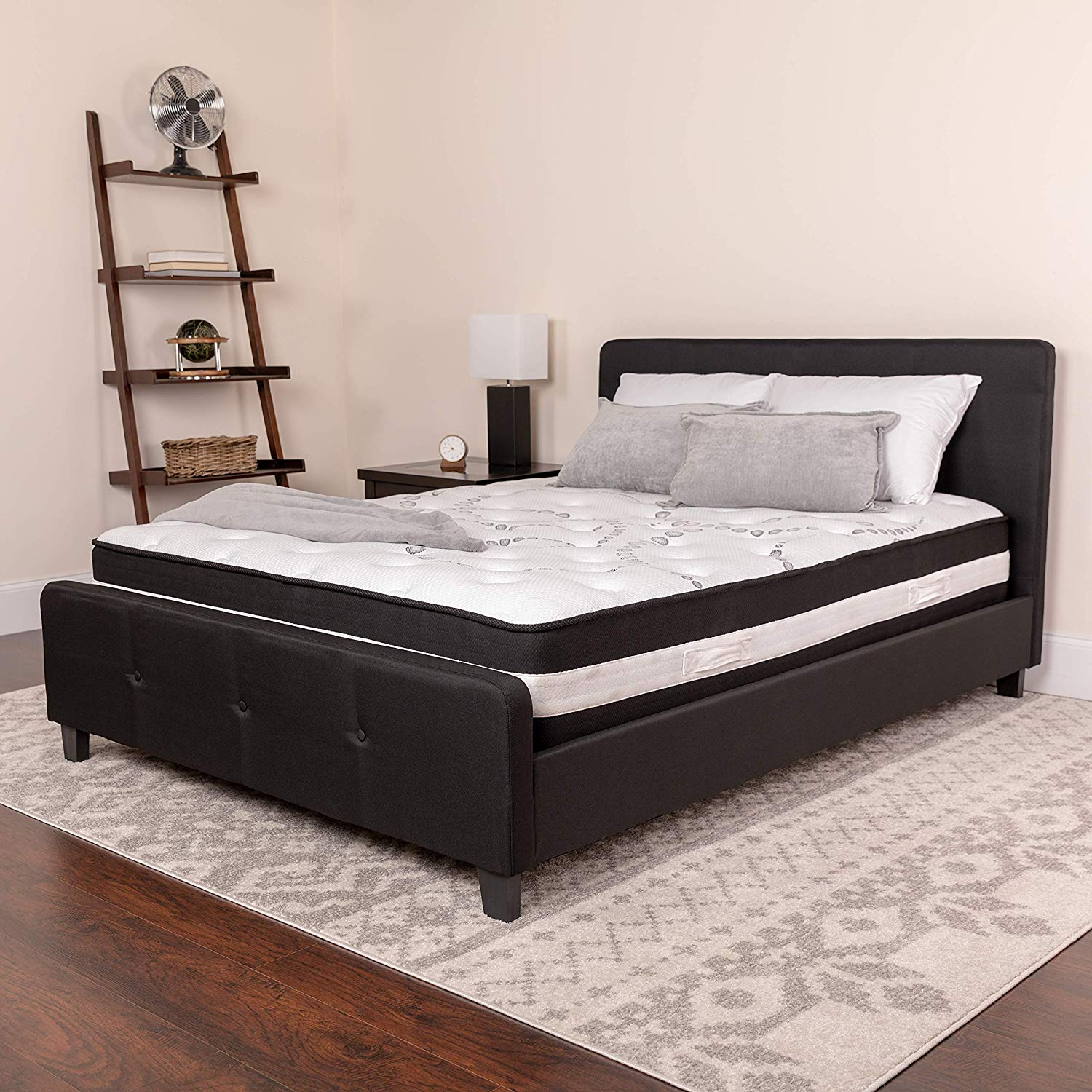 Flash Furniture Capri Comfortable Sleep 12 Inch Foam and Pocket Spring Mattress Review