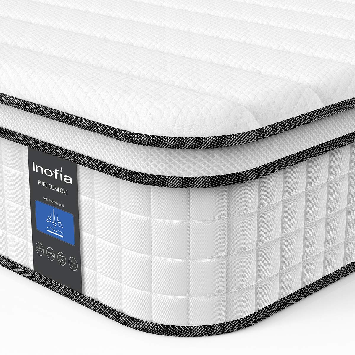 Inofia Responsive Memory Foam Mattress Review