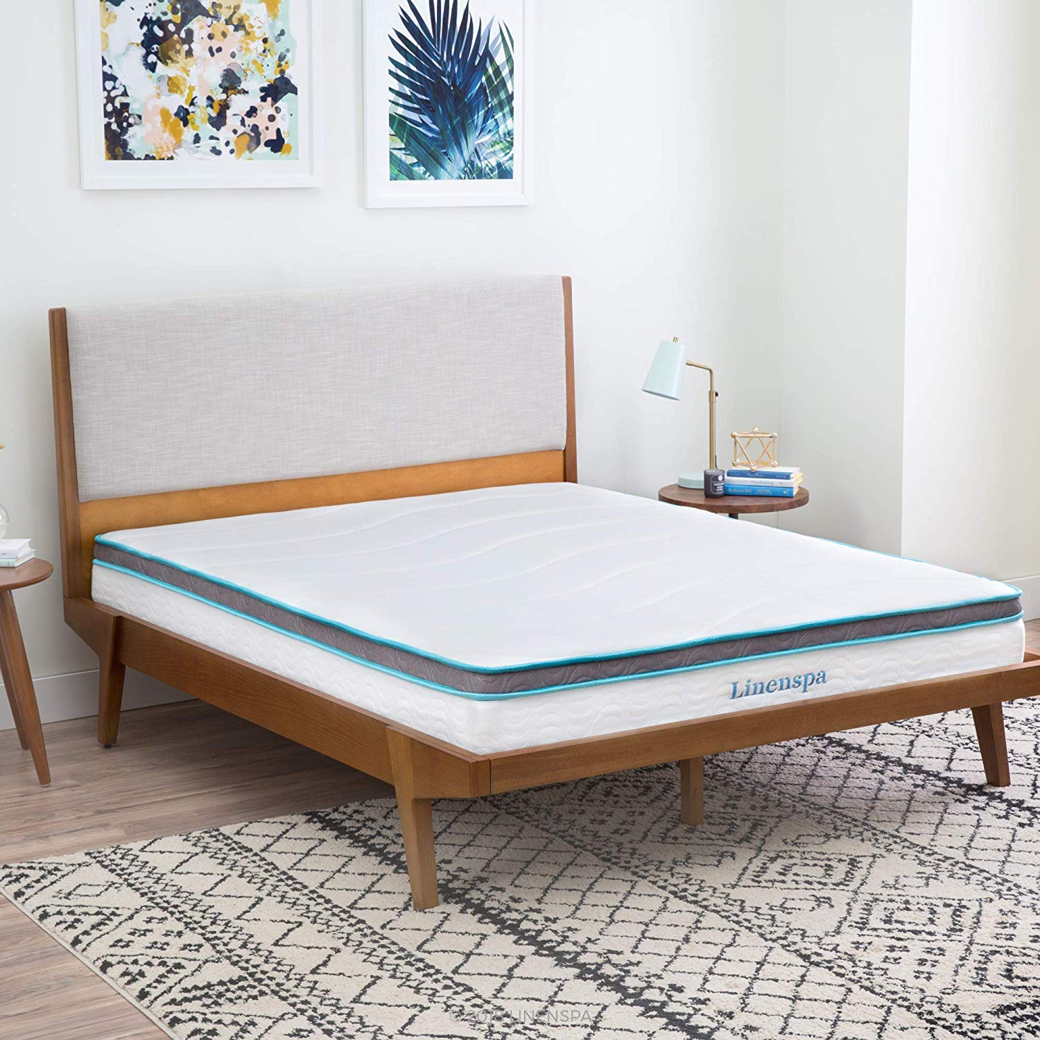 LINENSPA 8 Inch Memory Foam and Innerspring Hybrid Mattress - Twin Review