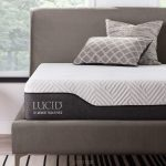 LUCID Memory Foam Hybrid Mattress