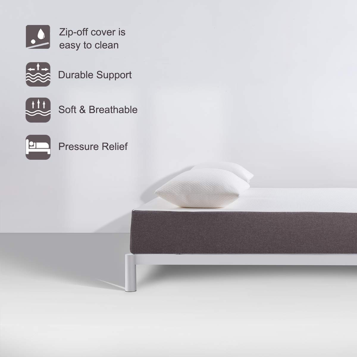 Molblly Memory Foam Mattress