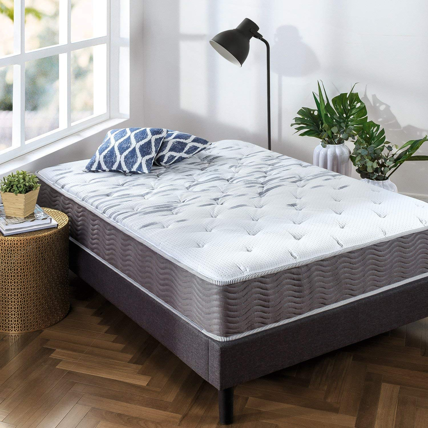 Zinus Sleep Master Extra Firm iCoil 10 Inch Spring Mattress Review