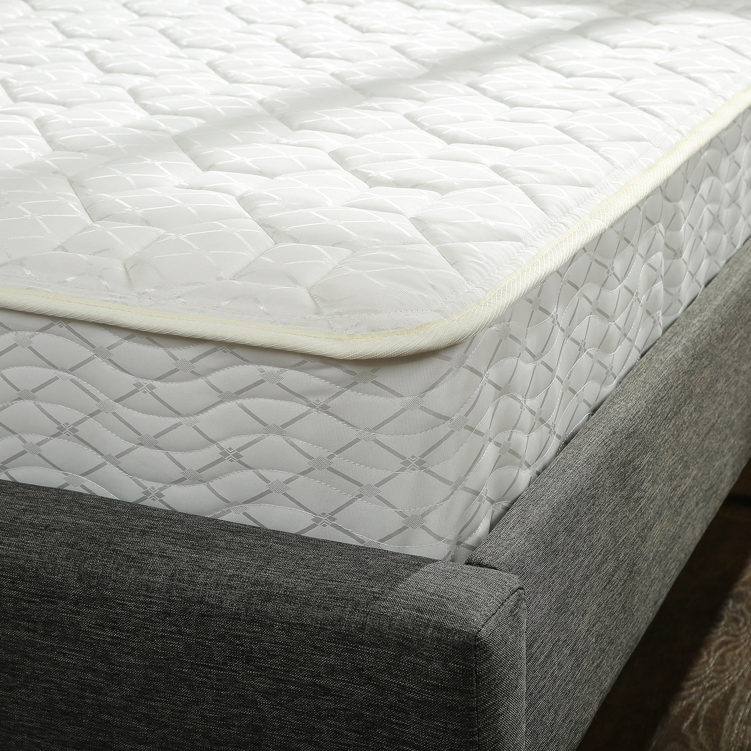 Zinus 8 Inch Hybrid Green Tea Foam and Spring Mattress Review